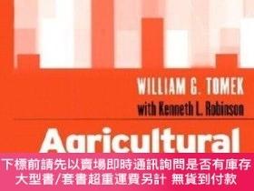 二手書博民逛書店Agricultural罕見Product PricesY255174 [美]william G. Tomek