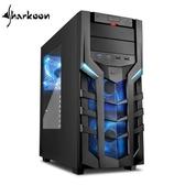 【台中平價鋪】Sharkoon旋剛 DG7000 blue 聖龍者-藍 電腦機殼