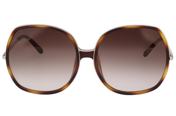 CHLOE 個性方框 太陽眼鏡 (琥珀色) CE729SA