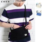 中性款 帆布單肩包免運費 日本品牌【coen】