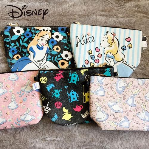 迪士尼 正版授權 魔境夢遊 愛麗絲 Alice 荔枝紋 塗鴉包 側背包 肩背包 收納包 手拿包