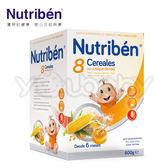 貝康 紐滋本 Nutriben 8種穀類麥精600g