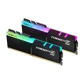 G.SKILL 芝奇 Trident Z RGB DDR4-3200 16G*2 超頻記憶體 F4-3200C16D-32GTZR