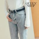 Queen Shop【07100088】方頭造型皮帶 兩色售*現+預*
