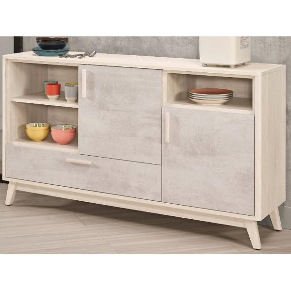 櫥櫃 餐櫃 MK-930-4 漢斯5尺收納櫃【大眾家居舘】