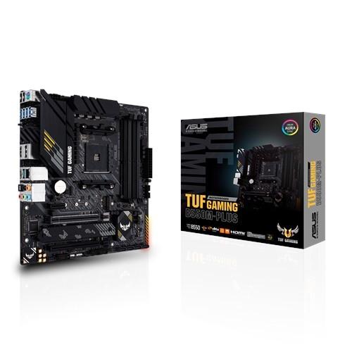 ASUS 華碩 TUF GAMING B550M-PLUS AMD 第3代 Ryzen LGA AM4腳位 (m-ATX)主機板