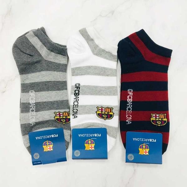 韓國襪子 巴塞隆納足球俱樂部 男襪 短襪 裸襪 運動襪 休閒襪