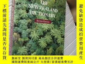 二手書博民逛書店THE罕見NEW ZEALAND DICTIONARY (a d