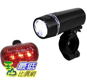 [美國直購] BV Bicycle Light Set Super Bright 5 LED Headlight, 3 LED Taillight, Quick-Release LED大燈