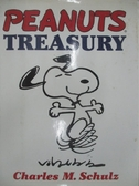 【書寶二手書T1/原文小說_DW9】Peanuts treasury_by Charles M. Schulz ; foreword_Johnny Hart