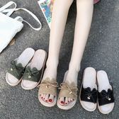 拖鞋  新款拖鞋女夏外穿時尚百搭涼拖女夏外穿港風拖鞋女室外出平底 coco衣巷