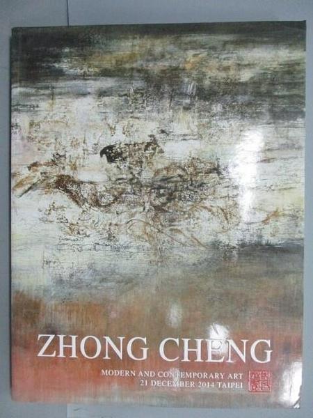 【書寶二手書T6/收藏_E1T】ZhongCheng_Modern&Contemporary Art_2014/