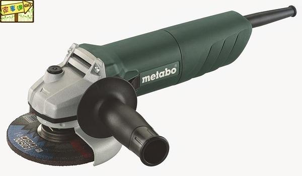 [ 家事達 ] 德國 Metabo-W72100 美達寶  4'' 手持式砂輪機   特價-