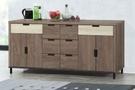 【南洋風休閒傢俱】餐櫃系列- 水上飄6尺餐櫃 碗碟櫃 櫥櫃 碗盤櫃 收納櫃 置物櫃 CX837-2