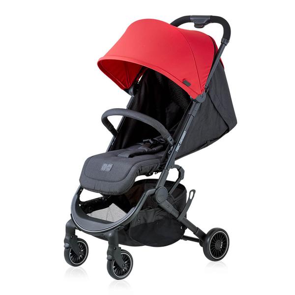 【贈雨罩或蚊帳】ABC Design - Pupair 可登機四輪秒收手推車 經典莓果紅