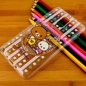 Rilakkuma 拉拉熊/懶懶熊 Samsung Galaxy Note 4 彩繪透明保護軟套-花草優雅熊