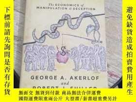 二手書博民逛書店Phishing罕見for Phools--The Economics of Manipulation and D
