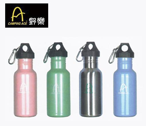 丹大戶外用品 野樂【Camping Ace】750ml不銹鋼運動水壺/一組兩入 ARC-1559