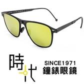 【台南 時代眼鏡 ROAV】Mod 8207 C13.62 折疊 方形太陽眼鏡墨鏡 偏光水銀鏡片 金色