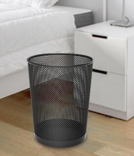 垃圾桶 加厚垃圾桶家用辦公室廚房衛生間創意簡約大號紙簍無蓋臥室客廳用【快速出貨八折鉅惠】