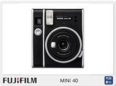 送空白底片40張~ FUJIFILM MINI 40 拍立得 相機(Mini40 公司貨)