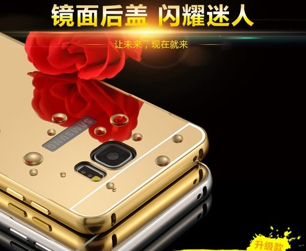 【風雅小舖】SAMSUNG Note5手機殼 三星Note5手機保護套 金屬邊框後蓋保護殼