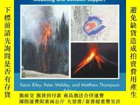 二手書博民逛書店Natural罕見Hazard Uncertainty Assessment: Modeling and Deci