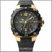 金鋼戰士雙顯多功能電子錶 黑金JAGA捷卡blink系列 防水100米 柒彩年代【NE868】原廠公司貨