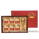 【華齊生技】紅棗金絲燕窩禮盒(75gx6入+高腳杯1只)x3盒_台灣製造