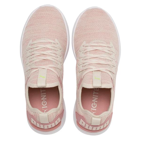 PUMA Ignite Flash evoKnit 女鞋 慢跑 路跑 襪套 輕量 透氣 避震 粉【運動世界】19051118