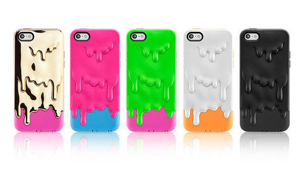 [NOVA成功3C]SwitchEasy Melt for iPhone 5C, 冰淇林立體雙層保護殼  喔!看呢來