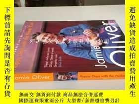 二手書博民逛書店happy罕見days with the naked chef(原味主廚的快樂時光)Y16719 Jamie
