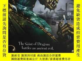 二手書博民逛書店the罕見saint of dragons battles an