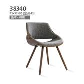 北歐風復刻版餐椅 (38340) 設計師餐椅/實木椅/復刻餐椅/原木餐椅【雅莎居家生活館】
