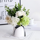 清新仿真花束藝裝飾餐桌臥室玫瑰唯美小清新盆栽茶幾客廳家居擺設件 LJ443【極致男人】