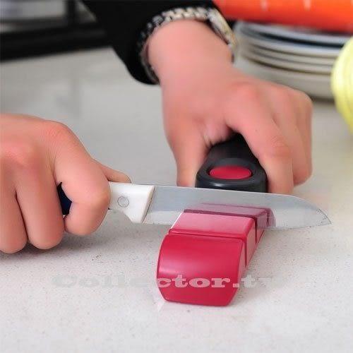 【11月萊這199免運】廚房必備兩段式粗細雙磨磨刀石 磨刀器