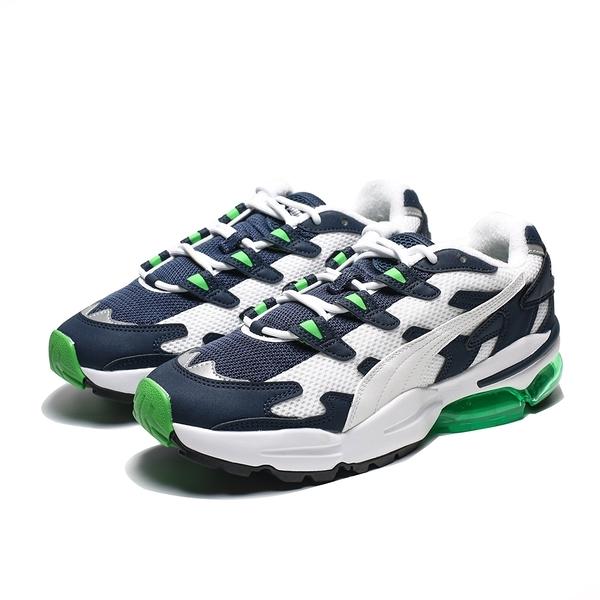 PUMA CELL ALIEN OG 深藍白 復古 螢光綠氣墊 休閒鞋 男 (布魯克林) 36980102