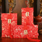 春節 新年 開運紅包袋 2018 壓歲錢 創意紅包 針織紅包袋 錦緞紅包 中國風 中國結 布紅包 錭緞 鍛面