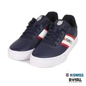 K-SWISS 新竹皇家 Court Lite 藍色 皮質 橫條 休閒鞋 男女款 NO.B0323