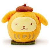 【布丁狗 達摩娃娃】布丁狗 達摩 手掌娃娃 玩偶 日本正版  該該貝比日本精品 ☆