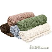 浴室地墊地毯防滑吸水門墊茶幾墊毛毯地毯毛絨地板墊兒童爬行毯【米蘭街頭】igo