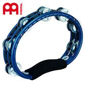 【小叮噹的店】全新 公司貨 德國 MEINL TMT1A-B 藍色  塑膠半月鈴鼓   M-TMT1A-B