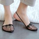 半掌襪 襪子女淺口夏季薄款前腳半掌隱形襪日韓繫高跟鞋蕾絲花邊吊帶船襪 店慶降價