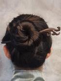髮簪髮簪木簪子日常古風髮飾古代女飾品盤髮百搭簡約古裝現代漢服頭飾促銷好物