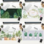 原創植物系列游戲滑鼠墊超大鎖邊加厚防水 辦公筆記本桌墊 創想數位 igo