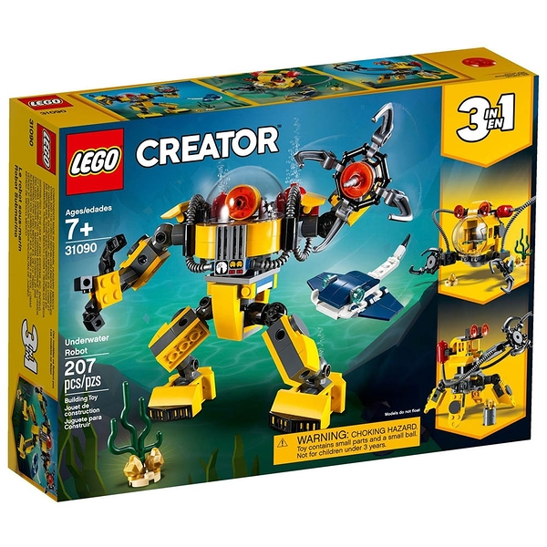 LEGO 樂高 Creator 創意大師系列 Underwater Robot 水底機器人 LT31090