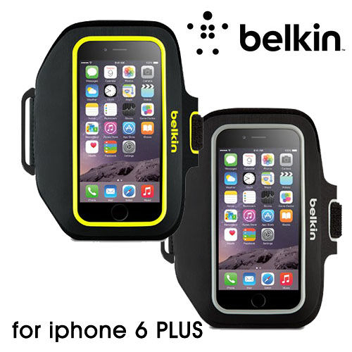 BELKIN Armband iPhone 6 PLUS 5.5吋 Sport-Fit 路跑 運動 臂套 (手機)