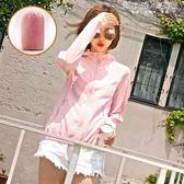 防曬衣女短款夏季新款修身薄款透氣騎車外套防曬衫防曬服女潮 韓小姐