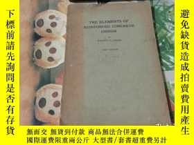 二手書博民逛書店THE罕見ELEMENTS OF REINFORCED CONCRETE DESIGNY352802 HADD