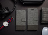 三星 S8 S8+ Plus 十字紋拼色 牛皮布 掀蓋磁扣手機套 手機殼 皮夾式手機套 側翻可立式 外磁扣皮套